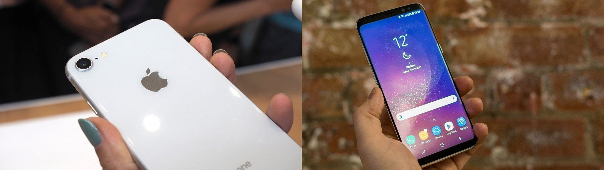 Comparativo: iphone x vs galaxy note 8, iphone 8 vs galaxy s8 e iphone 8 plus vs galaxy s8+. Numa batalha de gigantes, colocamos lado a lado as especificações dos aparelhos top da apple e samsung; eles já estão dividindo o mercado