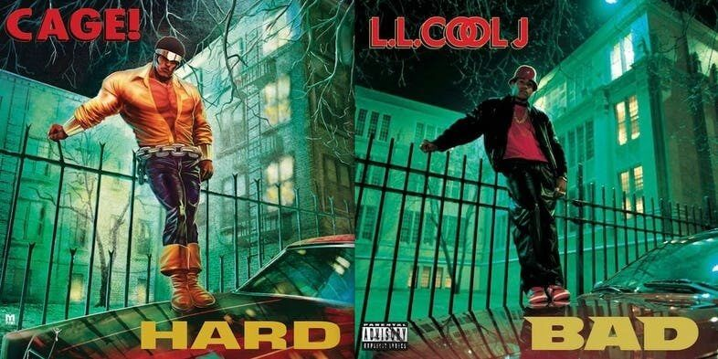 Luke Cage Hard Album Cover - Starboy: HQ escrita por The Weeknd é anunciada na NYC Comic Con