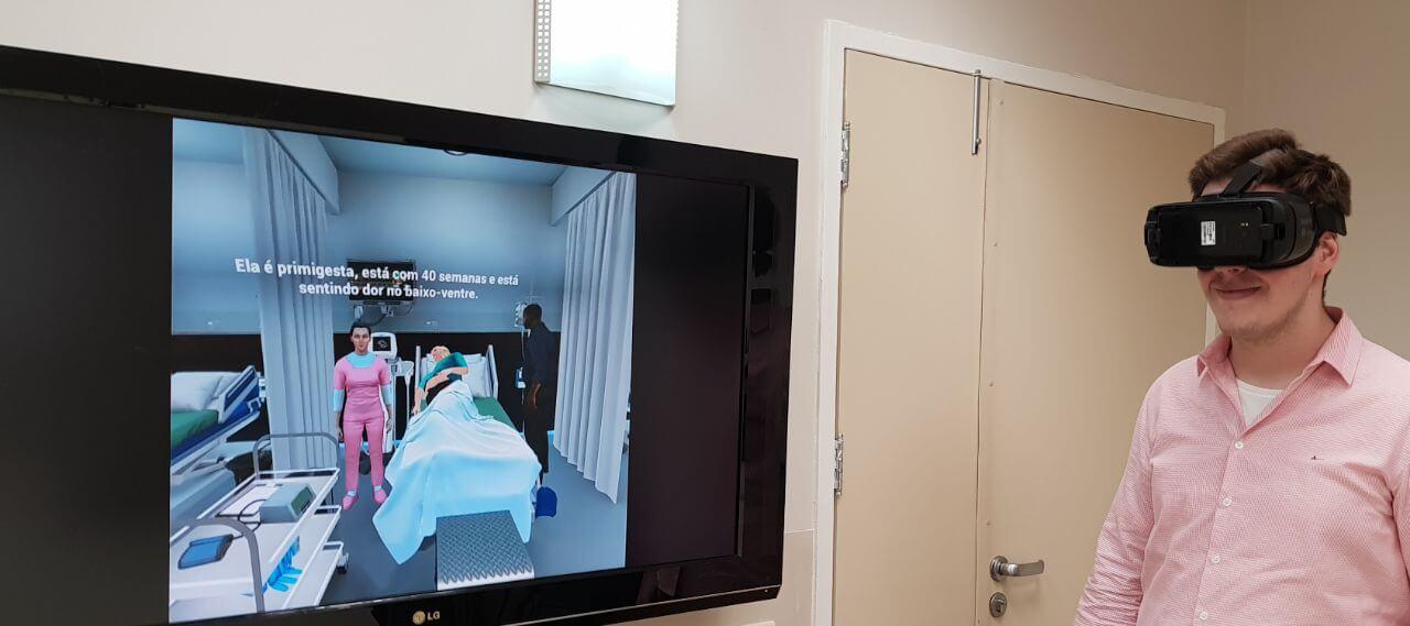 Unknown - Realidade Virtual vai ajudar mães a terem um parto adequado