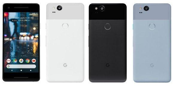 google pixel 2 - Google anuncia hoje os novos smartphones: Pixel 2 e Pixel 2 XL