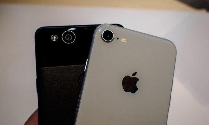 Iphone 8 pixel 2