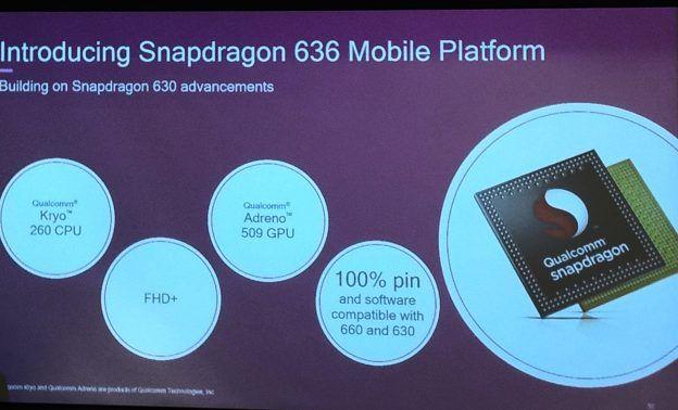 Qualcomm anuncia seu novo processador, o Snapdragon 636 5