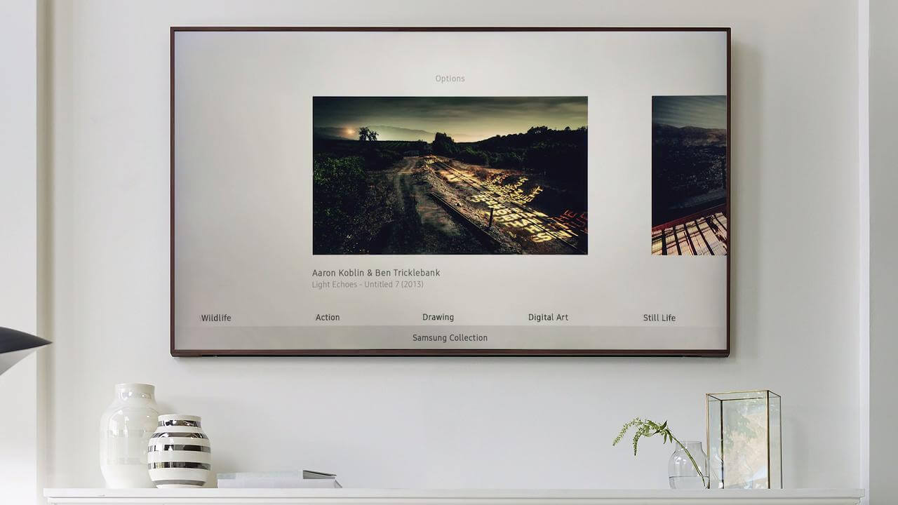 store - Review: Samsung The Frame TV, uma noite no museu