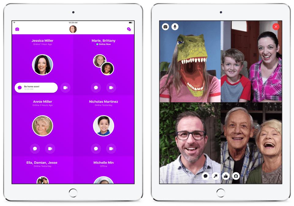 Mesenger Kids 3 - Facebook lança versão para menores de 13 anos