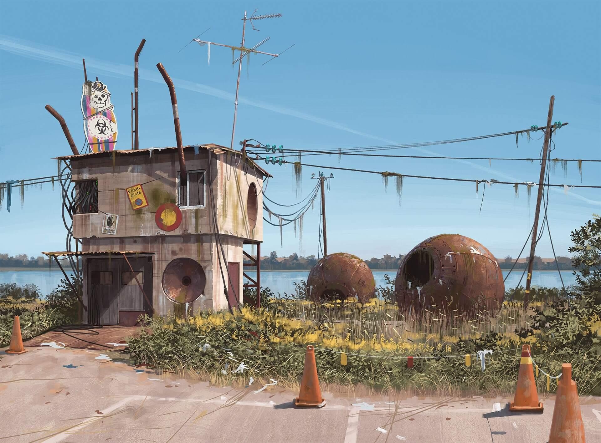 SURREAL: artista sueco cria paisagens futurísticas impressionantes 7