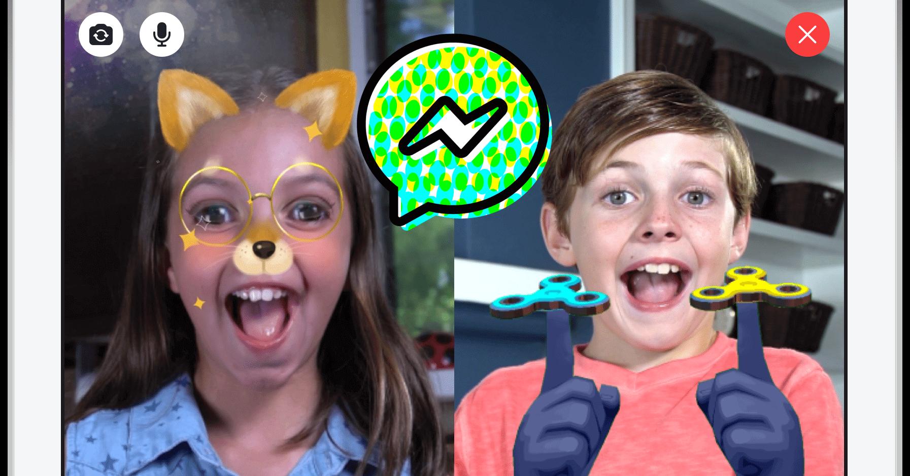 messenger kids 2 - Facebook lança versão para menores de 13 anos