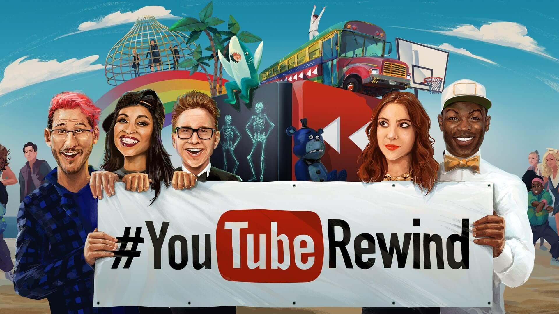 rewind youtube - YouTube Rewind 2017: os 10 vídeos mais assistidos no ano
