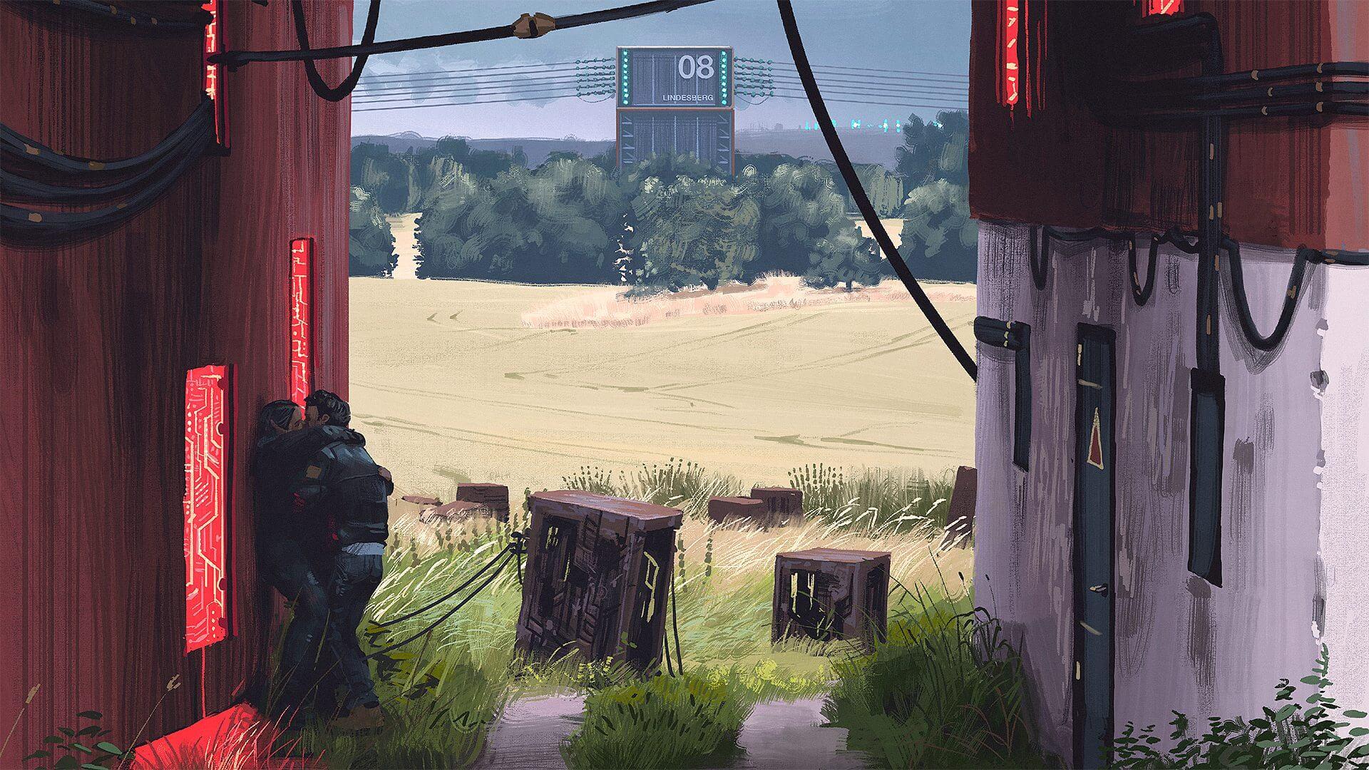 SURREAL: artista sueco cria paisagens futurísticas impressionantes 9