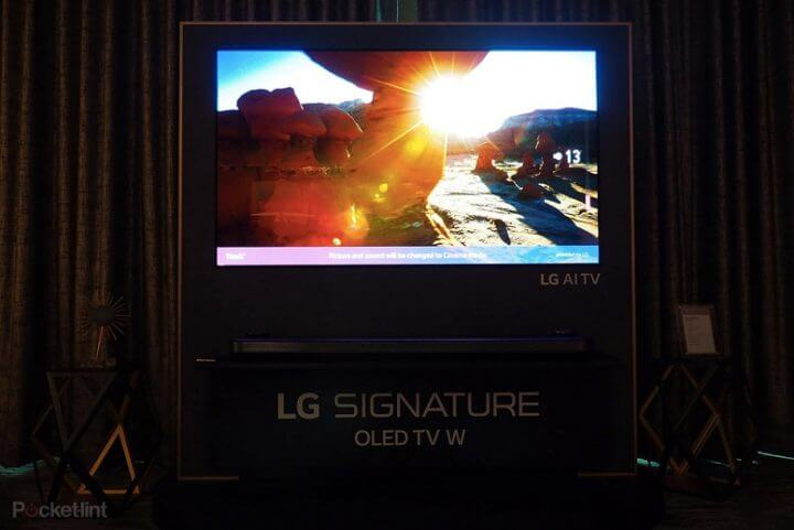 Tv signature oled w8