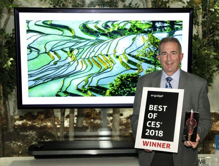 Ces best tv product award