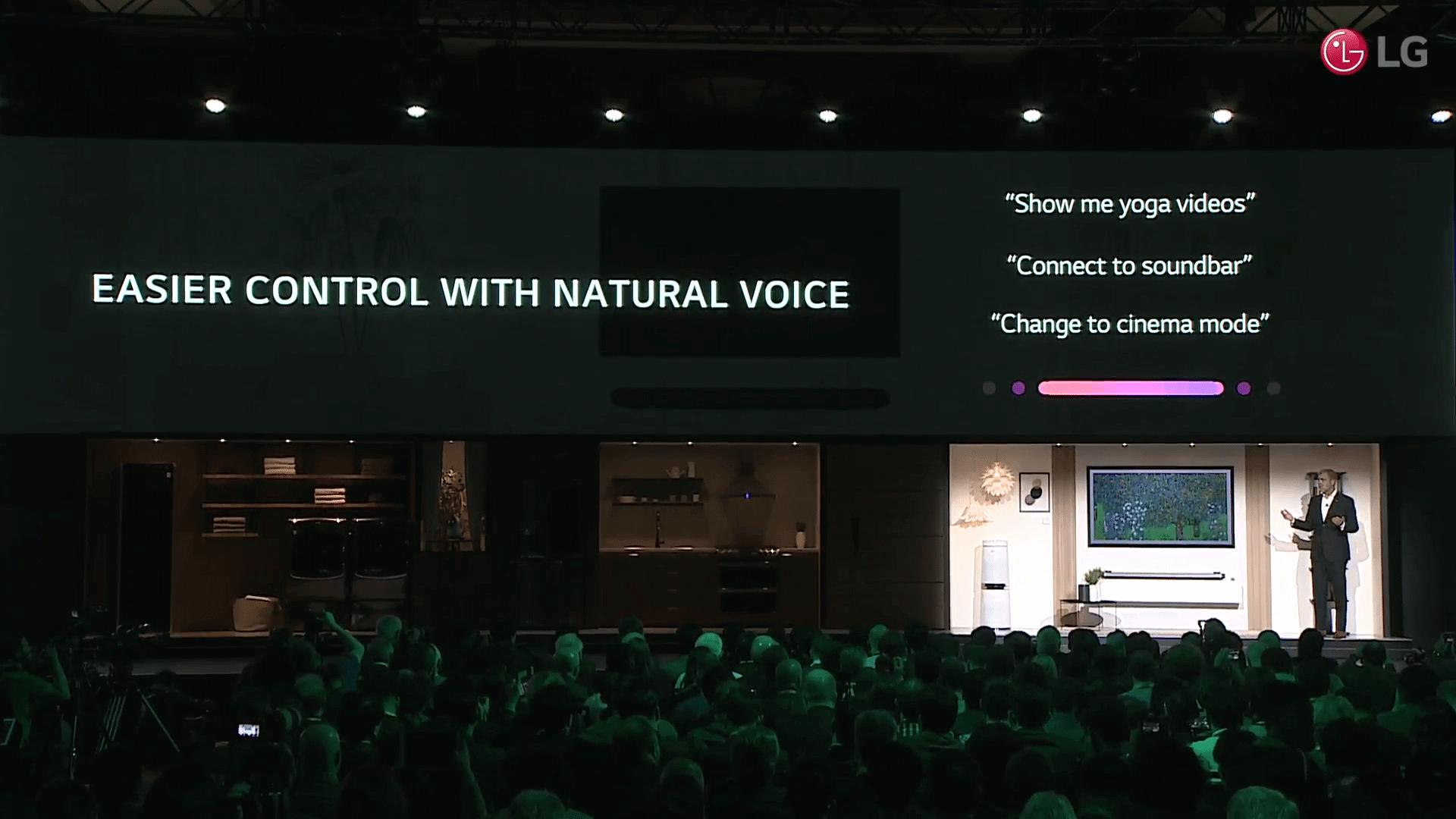 CES 2018: LG apresenta ThinQ, o novo sistema de inteligência artificial