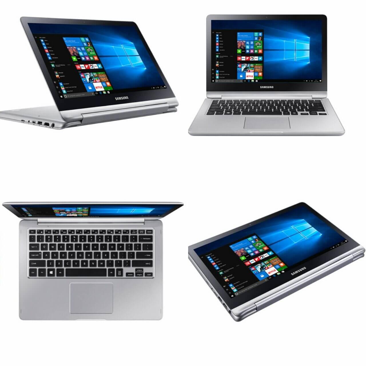 Novo notebook Samsung Style 2 em 1 tem touchscreen de 360 graus