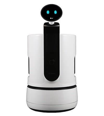 Ces 2018: lg anuncia três novos robôs para a sua linha cloi. A lg anunciou durante a ces 2018 três novos robôs para a sua linha cloi, que irá trabalhar em supermercados, aeroportos e hotéis. Veja os detalhes aqui.