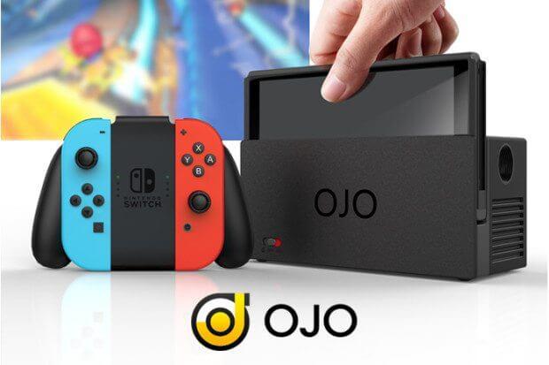 Ojo: acessório para nintendo switch vai transformar sua jogatina. Projetor promete aprimorar a mobilidade do nintendo switch, além de servir como carregador portátil