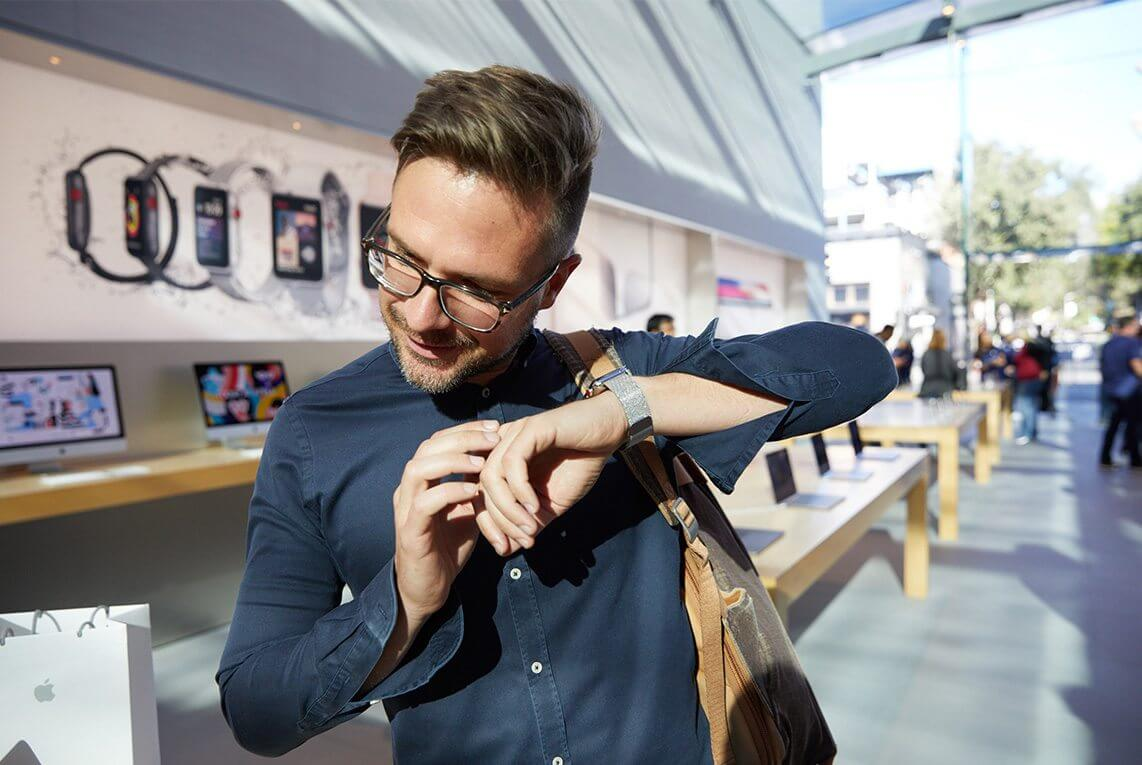 watchs3 launch palo alto watchs3 call listen - REVIEW: Apple Watch Series 3, o wearable do momento