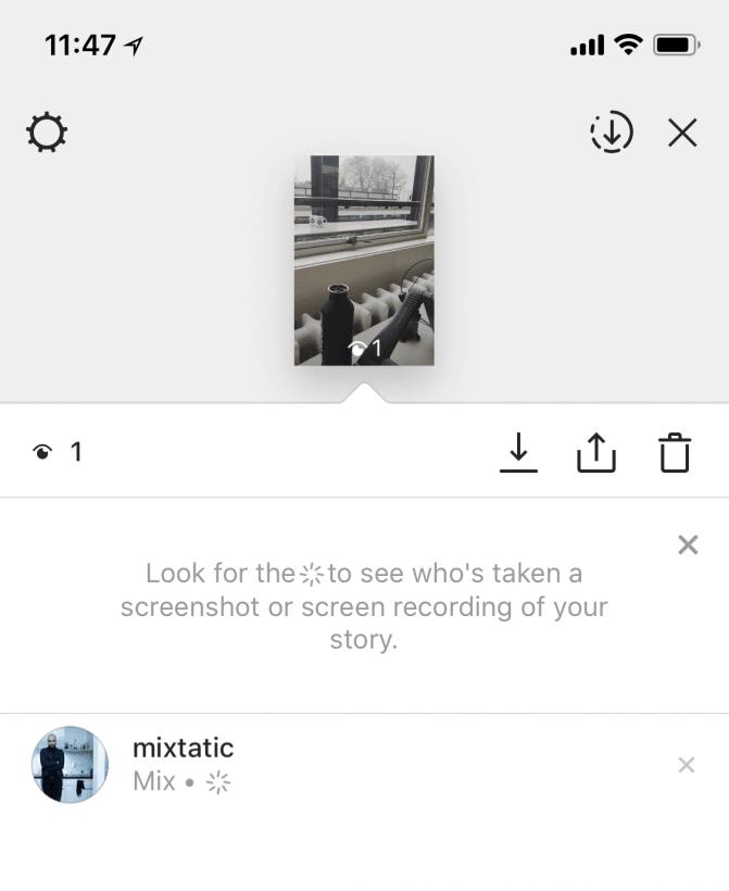 Instagram começa a mostrar quem tirou print dos seus stories. O instagram agora avisa quando alguém tira um print de um storie feito por você. Entenda a função.