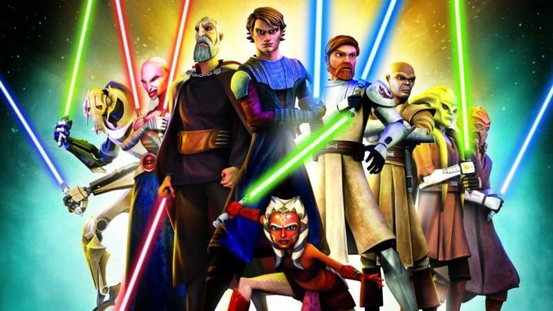 Star Wars Animated Series Clone Wars Rebels Best Episodes - Entenda o que é a linha de tempo canônica de Star Wars