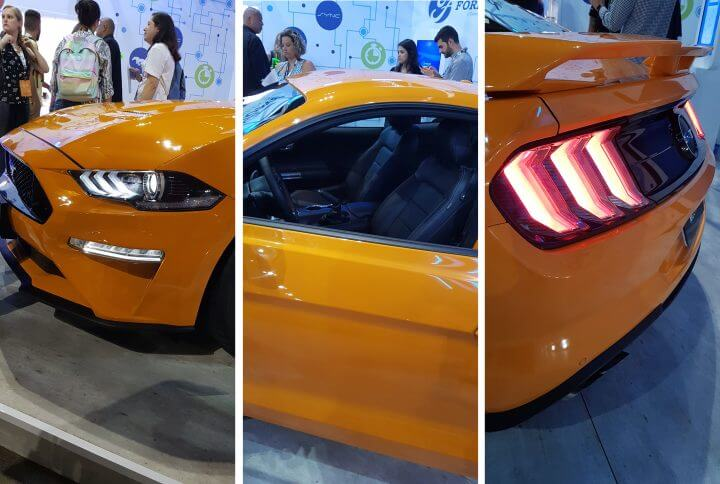 Ford apresenta Mustang 2018 na Campus Party Brasil