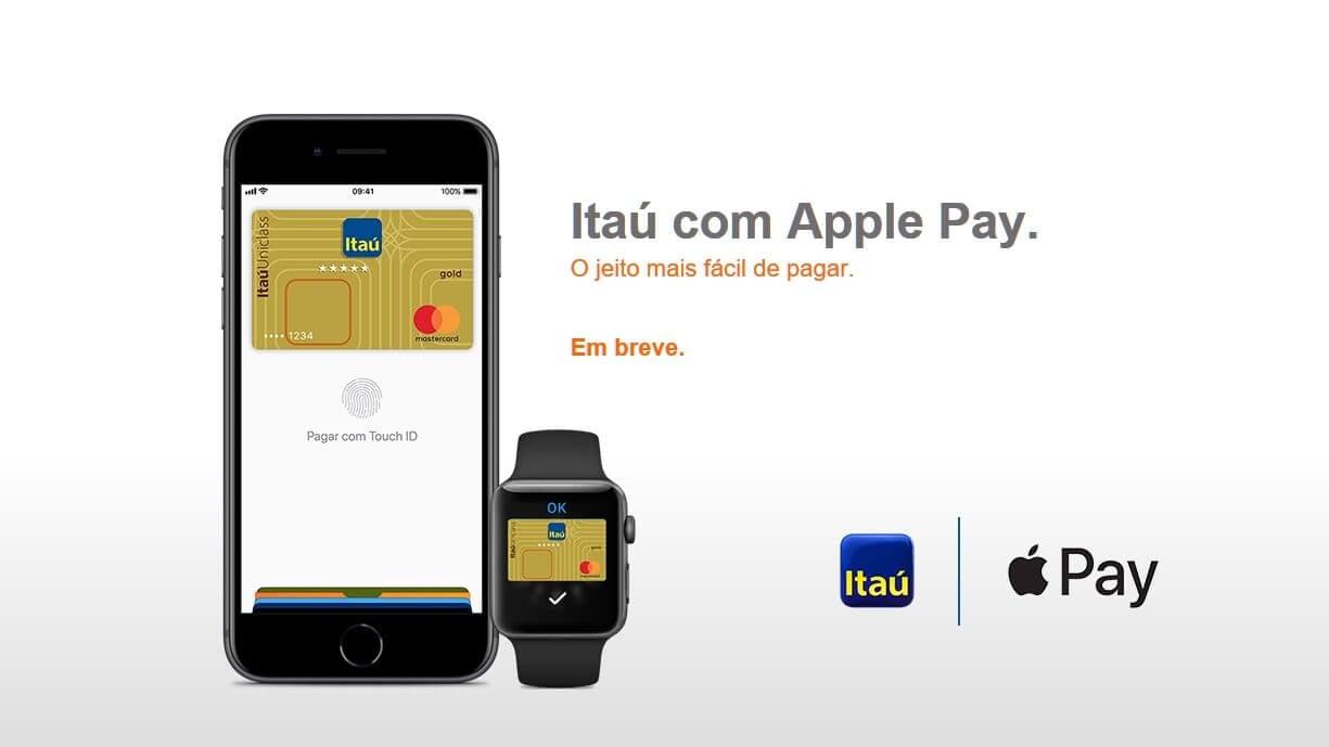 Itaú deve ser primeiro banco do brasil com apple pay