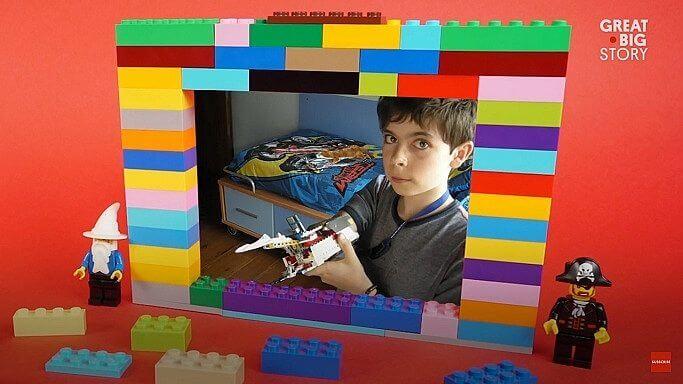 Primeiro braço prostético - Jovem usa LEGO para construir braço protético