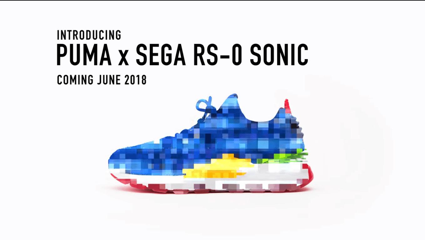 Screenshot 1 - Puma faz parceria com Sega para lançar tênis de Sonic