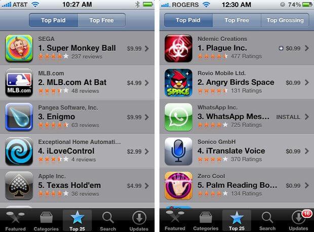 ios 6 app store 2008 2012 - App Store: o primeiro ano de sucesso e obstáculos da loja da Apple no iOS