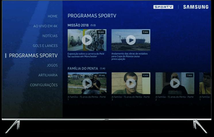 Samsung lança app exclusivo para quem quer assistir a Copa em 4K