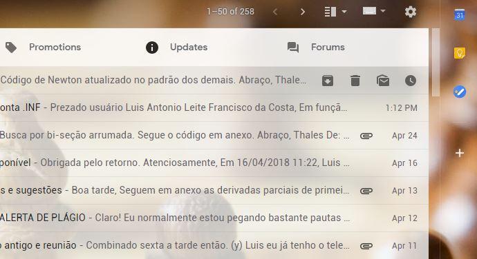 Confira todas as atualizações por trás do novo design do Gmail