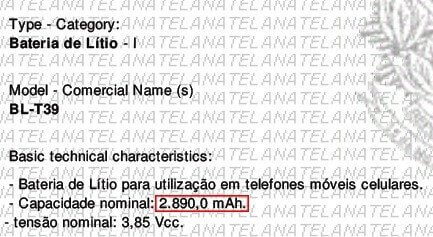 332856 - Certificação do LG G7 ThinQ na Anatel revela bateria menor do que o esperado