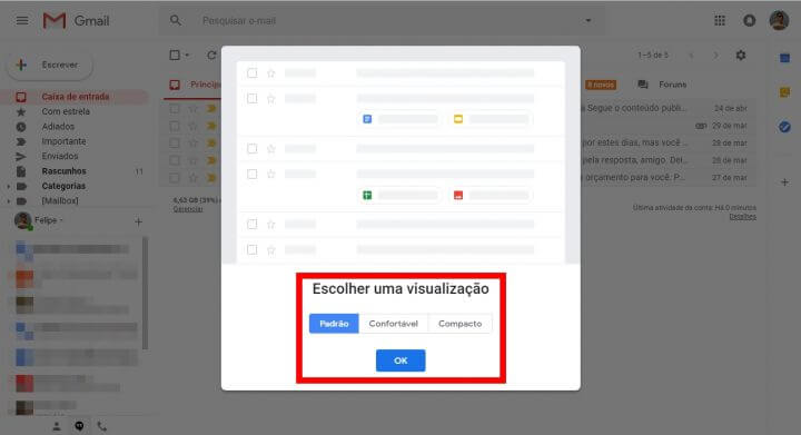 4 2 720x391 - Tutorial: Como ativar o novo design do Gmail