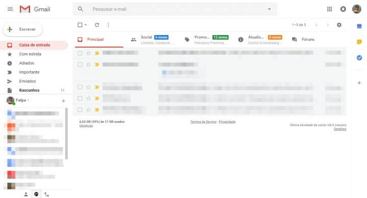 5 2 720x389 - Tutorial: Como ativar o novo design do Gmail