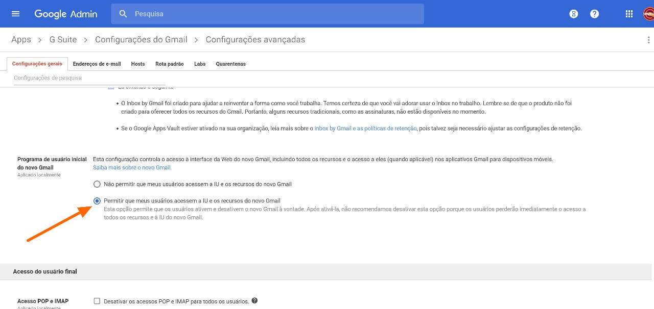 Como ativar o novo visual do Gmail corporativo (G Suite)