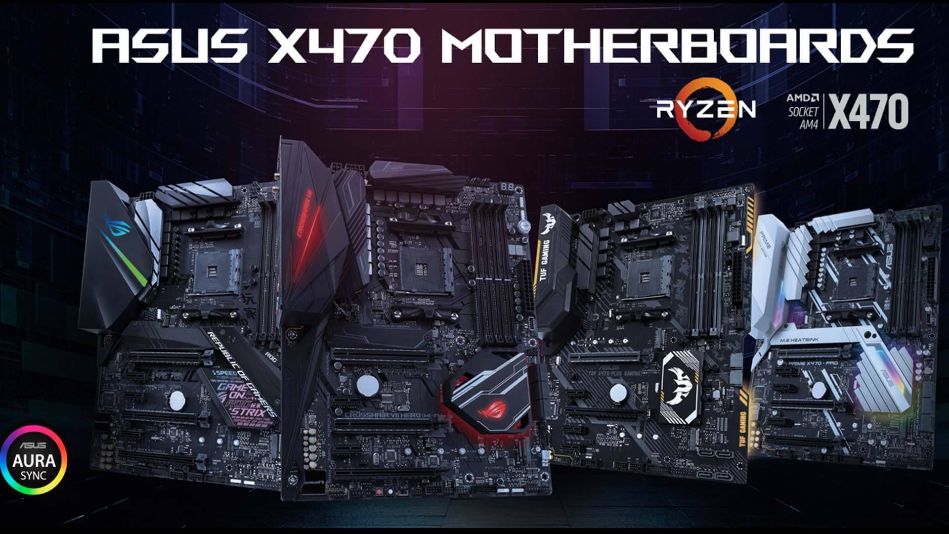 asus 6 - Confira as placa-mãe da ASUS para as CPUs Ryzen de 2ª geração