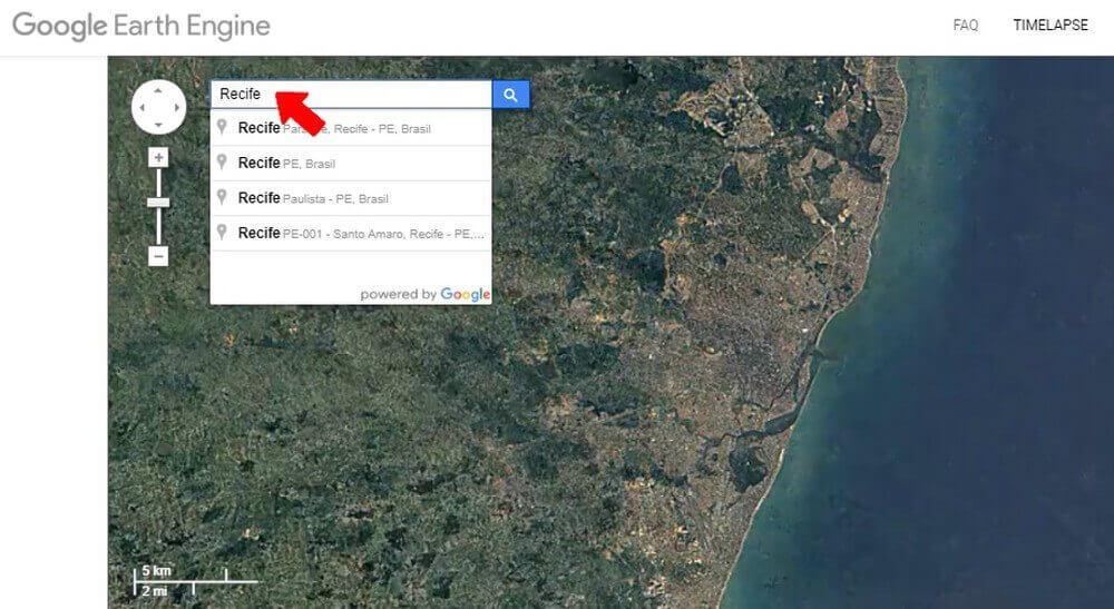 earth2 - Confira as mudanças em sua cidade com o Google Earth