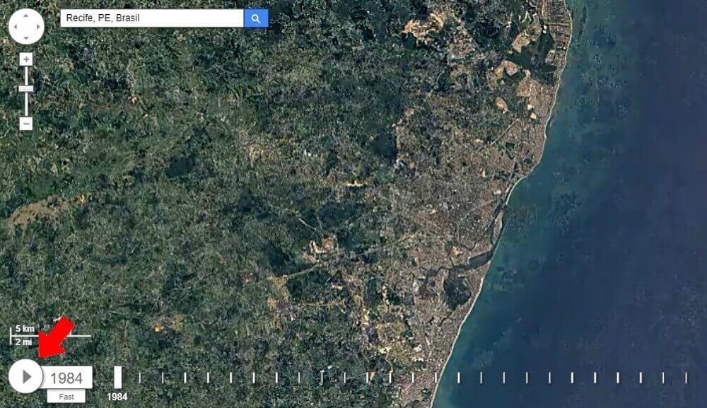 earth3 - Confira as mudanças em sua cidade com o Google Earth