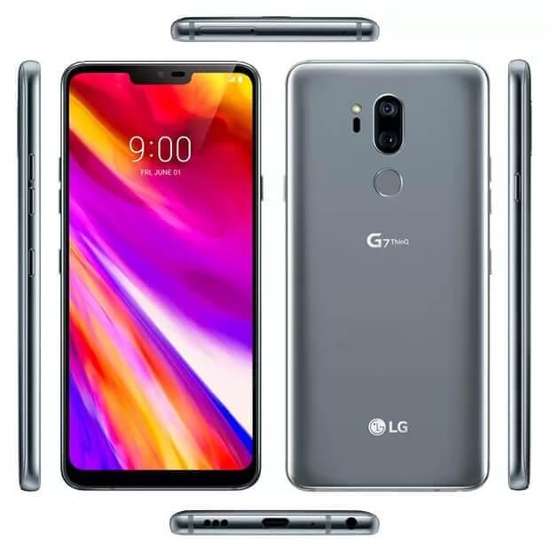 Com direito a notch: imagem revela o design do LG G7 ThinQ