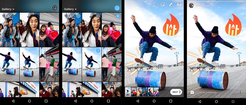 Instagram Stories: agora você pode publicar várias fotos e vídeos de forma simultânea