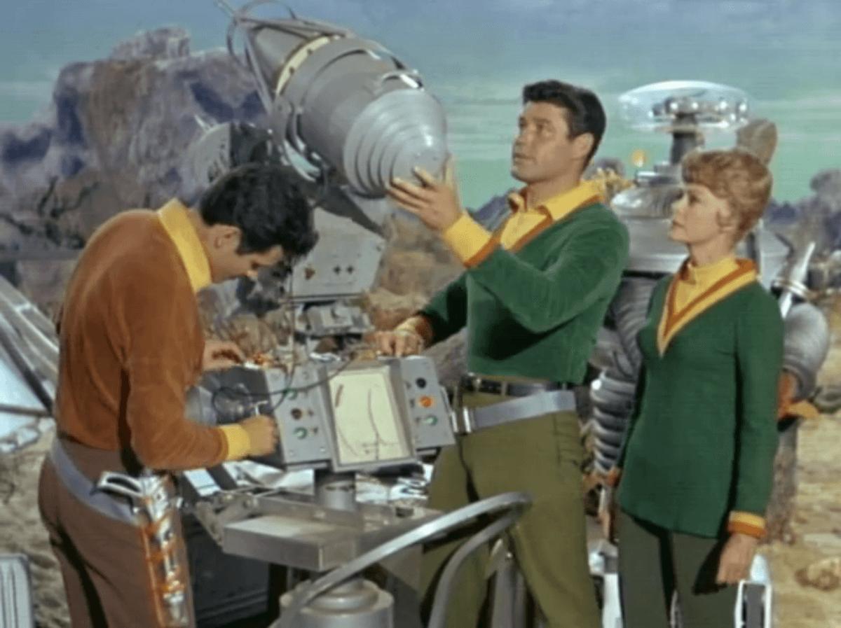 A família robinson em perdidos no espaço