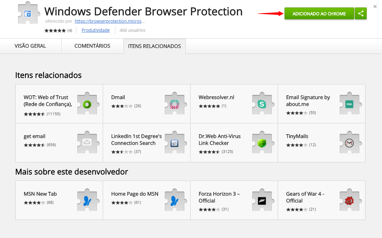 screenshot 20180419 170113 e1524168198214 - Tutorial: proteja-se de malwares com a extensão do Windows Defender para Google Chrome