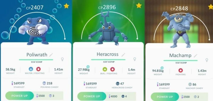 pokémon go fighting 720x344 - Pokémon GO ganha evento com Pokémon lutadores